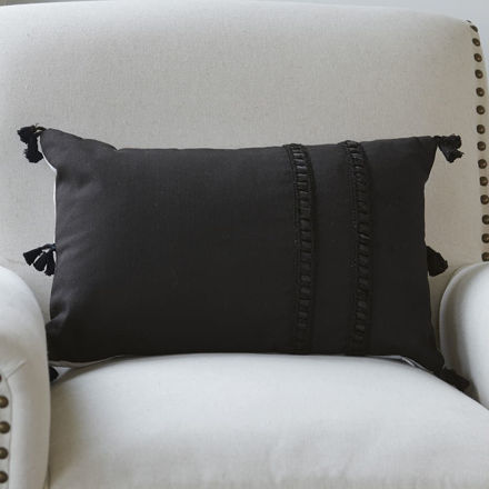 Picture of Corner Tassel Pillow Cover