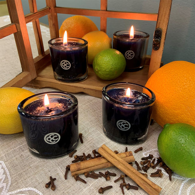 Picture of Autumn Bliss Jar candle Set.