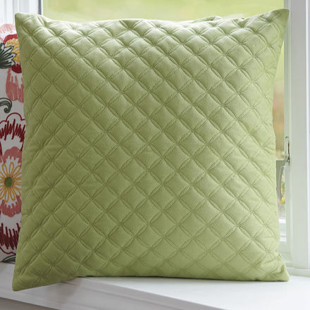 Picture of Quilted Diamond Pillow Cover