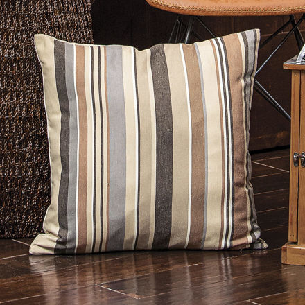 Picture of Neutral Stripe Pillow Cover